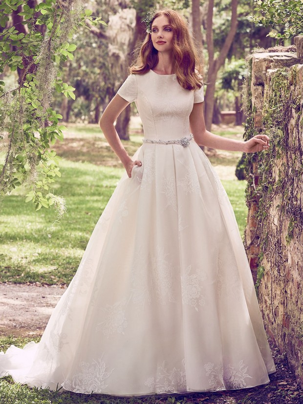 Most Beautiful Wedding Dresses.30 Of The Most Beautiful Bridal Ball Gowns Weddingsonline