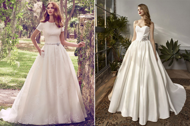 30 of the Most Beautiful Bridal Ball Gowns | weddingsonline