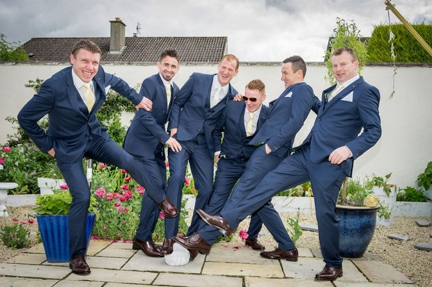 A Fun Footie Themed Wedding at Knightsbrook Hotel by M&M Photography images 20