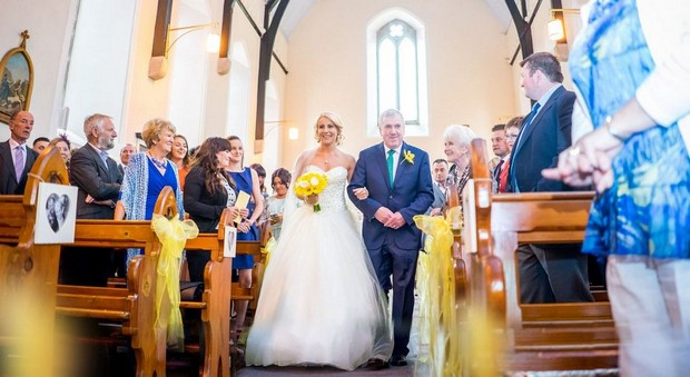 A Fun Footie Themed Wedding at Knightsbrook Hotel by M&M Photography images 27
