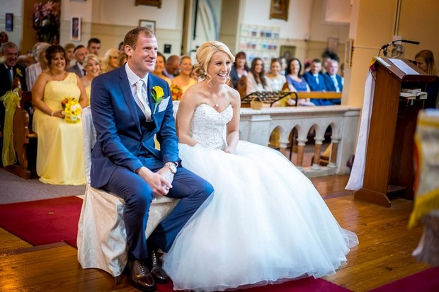 A Fun Footie Themed Wedding at Knightsbrook Hotel by M&M Photography images 30