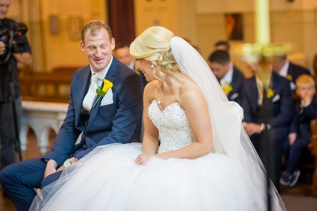 A Fun Footie Themed Wedding at Knightsbrook Hotel by M&M Photography images 31