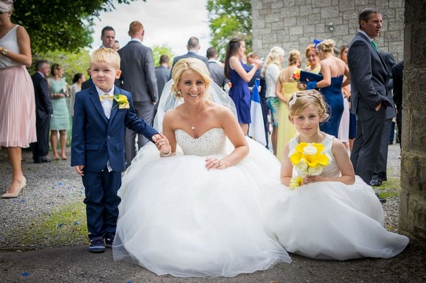 A Fun Footie Themed Wedding at Knightsbrook Hotel by M&M Photography images 43