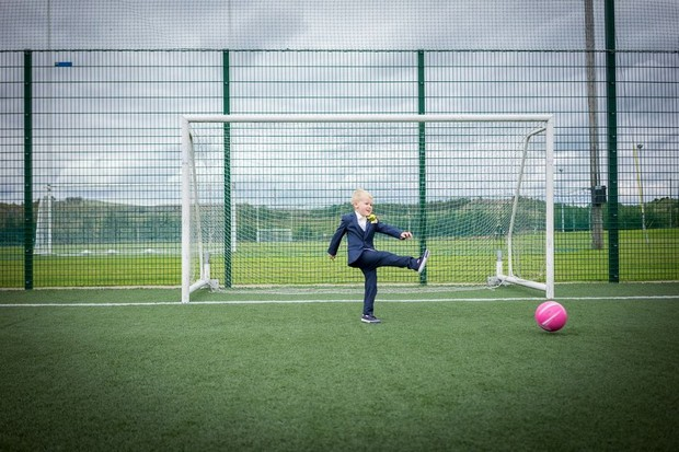 A Fun Footie Themed Wedding at Knightsbrook Hotel by M&M Photography images 44