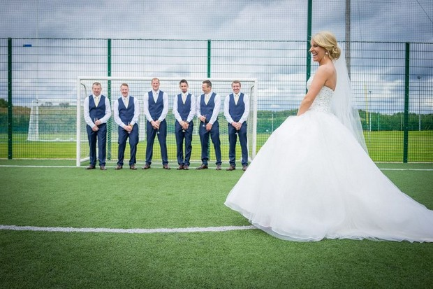 A Fun Footie Themed Wedding at Knightsbrook Hotel by M&M Photography images 45