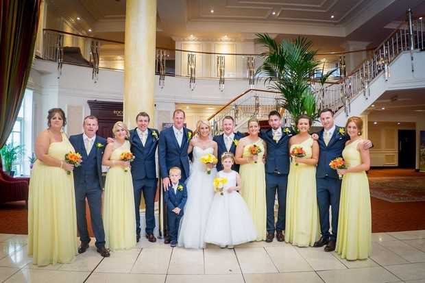 A Fun Footie Themed Wedding at Knightsbrook Hotel by M&M Photography images 61