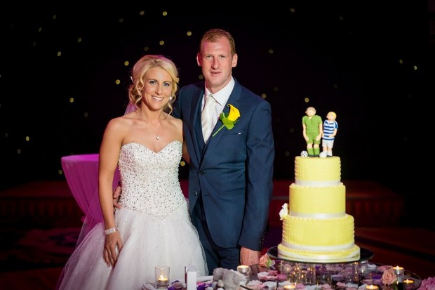 A Fun Footie Themed Wedding at Knightsbrook Hotel by M&M Photography images 65