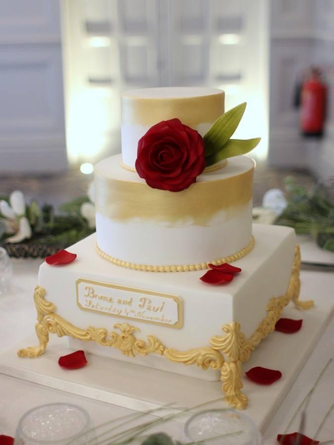 French Wedding Cake.32 Incredible Wedding Cakes From Irish Cake Makers Weddingsonline
