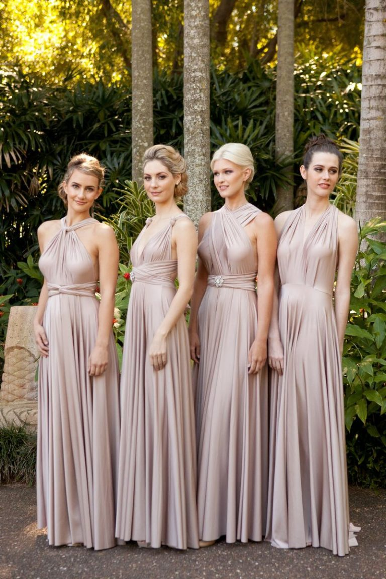 aca433d4953 They strive to create dresses that look gorgeous on every figure. Their  signature multiway ...