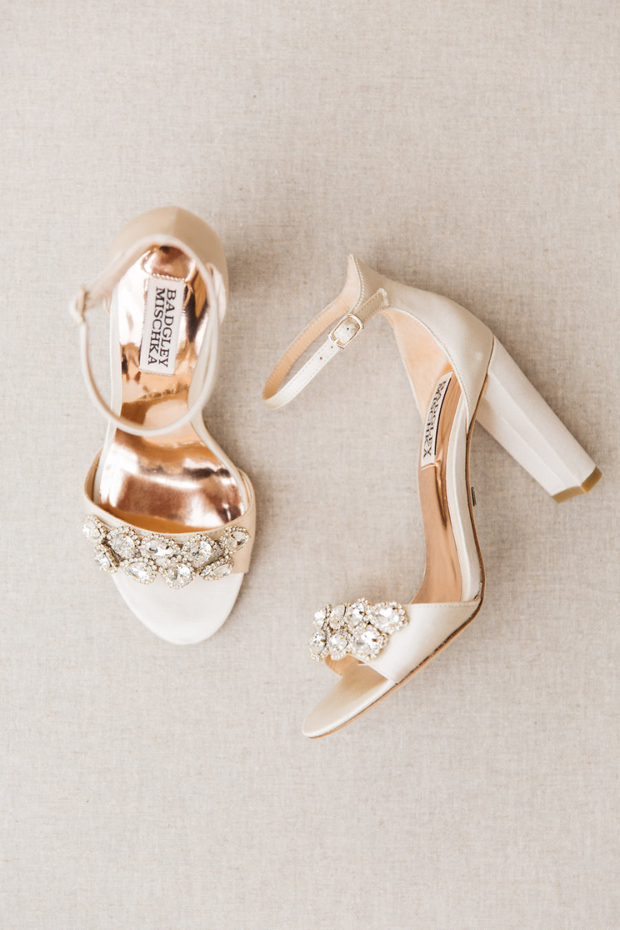 Badgley Mischka Diamante Sandals Similar Here And