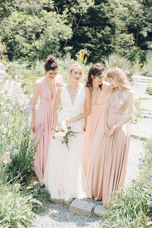 Designed So That They Can Be Twisted And Tied In Endless Diffe Ways Twobirds Bridesmaid Are All About Wearability Specialise Multiway Dresses