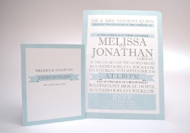 15 Wedding Invitations with Fabulous Fonts   weddingsonline