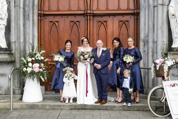 A Glittering Winter Wedding at The Keadeen Hotel images 30