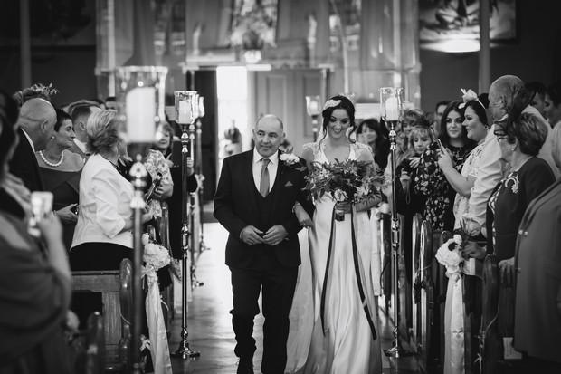A Glittering Winter Wedding at The Keadeen Hotel images 32