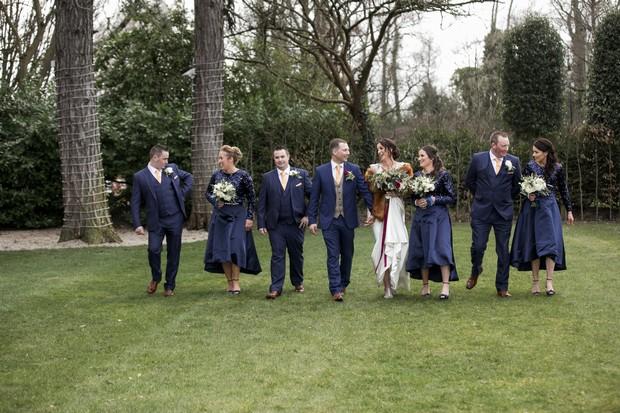 A Glittering Winter Wedding at The Keadeen Hotel images 57