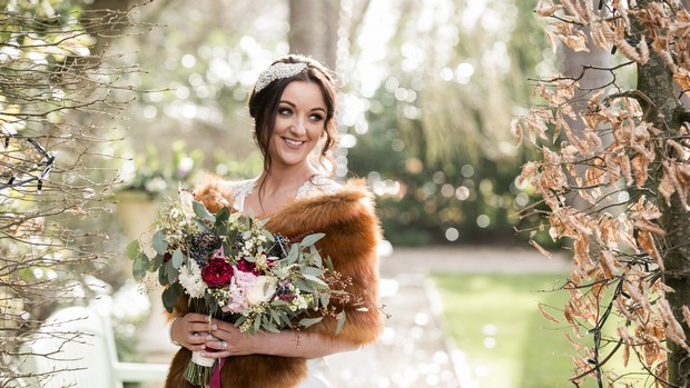 A Glittering Winter Wedding at The Keadeen Hotel images 61