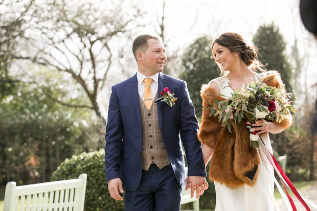 A Glittering Winter Wedding at The Keadeen Hotel images 64