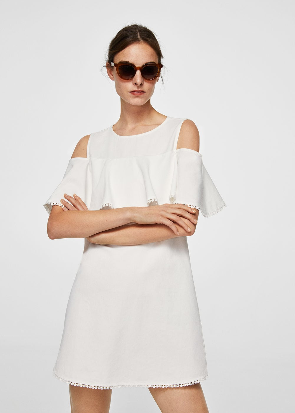 10 Pretty White Day After Dresses For Brides Weddingsonline