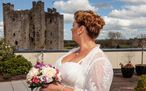 A Delightful Trim Castle Wedding by Peter Bell Photography images 9