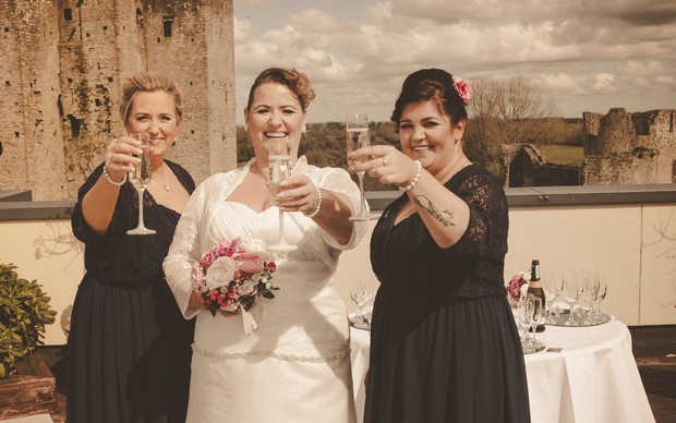 A Delightful Trim Castle Wedding by Peter Bell Photography images 11