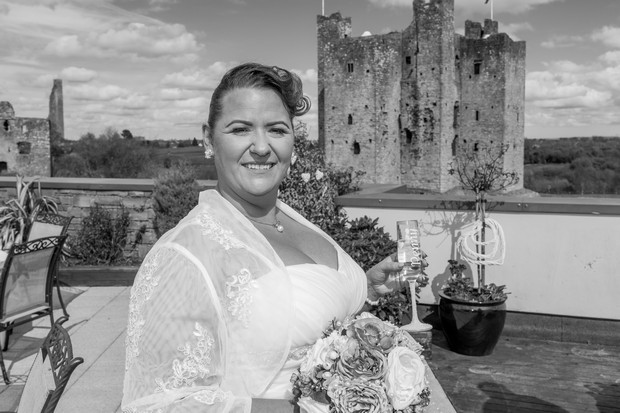A Delightful Trim Castle Wedding by Peter Bell Photography images 12