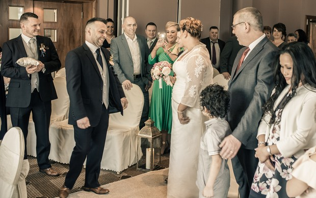 A Delightful Trim Castle Wedding by Peter Bell Photography images 17