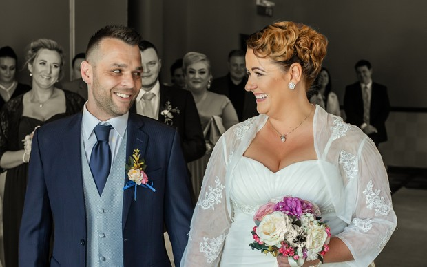 A Delightful Trim Castle Wedding by Peter Bell Photography images 18