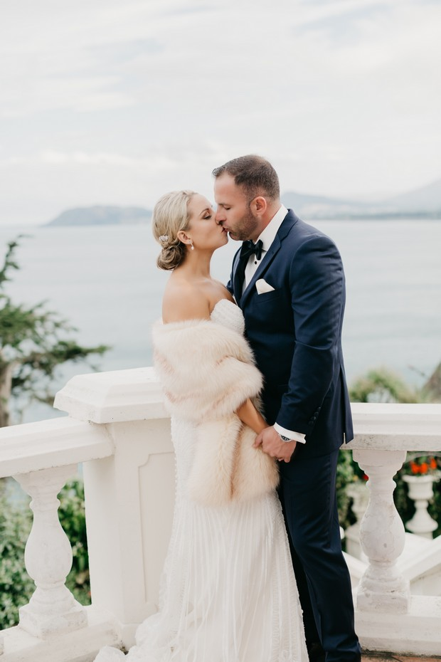 A Glamorous Royal Marine Hotel Wedding by the Sea images 34