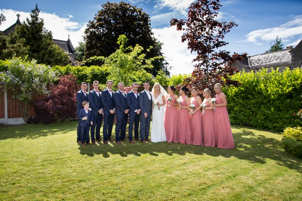 A Stylish Bridge House Hotel Wedding by Darren Byrne Photography & Film images 29