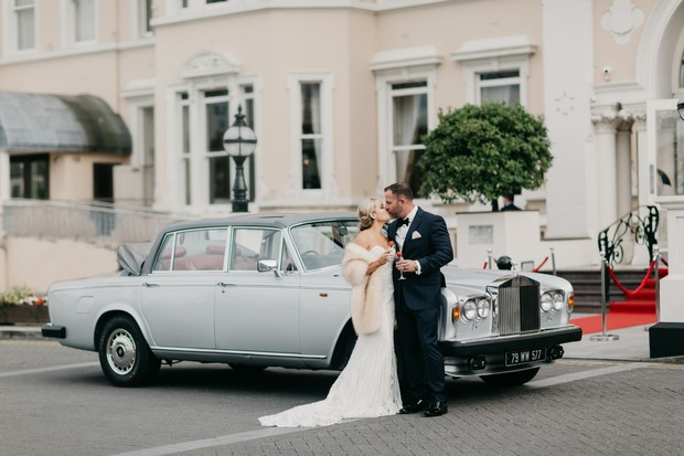 A Glamorous Royal Marine Hotel Wedding by the Sea images 42