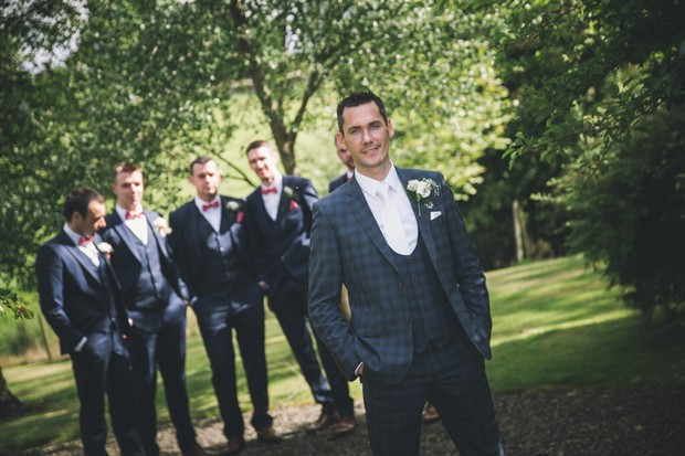 A Stylish Bridge House Hotel Wedding by Darren Byrne Photography & Film images 39
