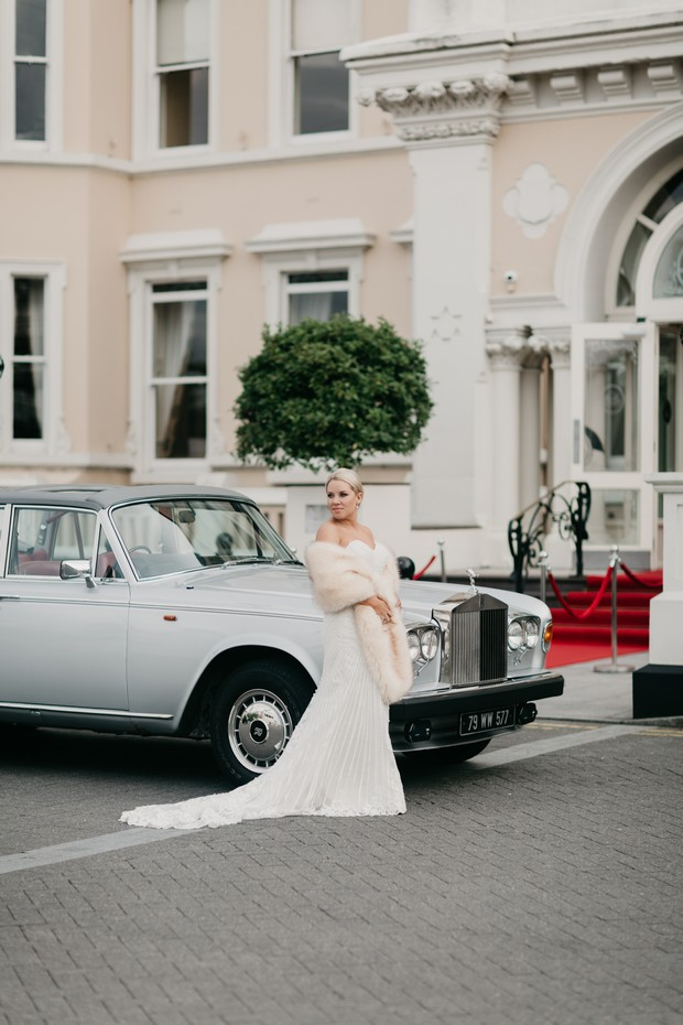 A Glamorous Royal Marine Hotel Wedding by the Sea images 43