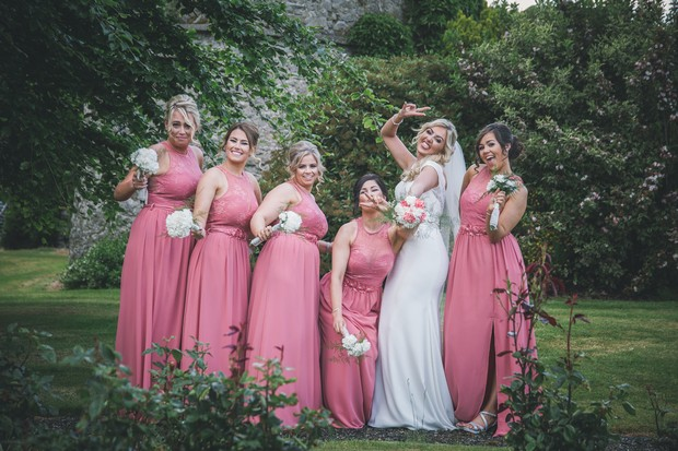 A Stylish Bridge House Hotel Wedding by Darren Byrne Photography & Film images 42