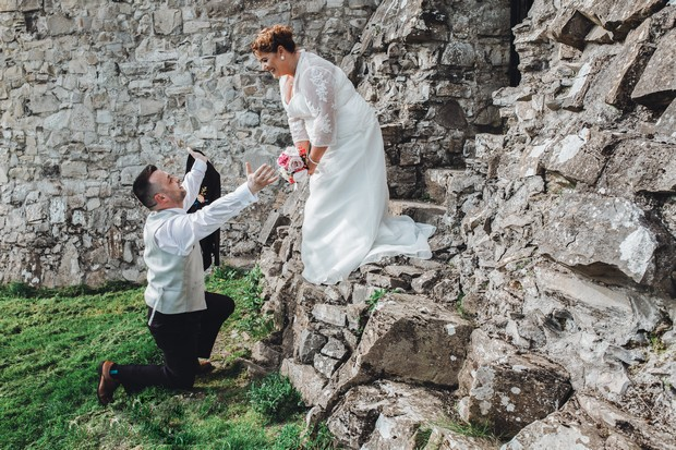 A Delightful Trim Castle Wedding by Peter Bell Photography images 34