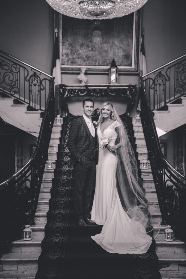 A Stylish Bridge House Hotel Wedding by Darren Byrne Photography & Film images 54