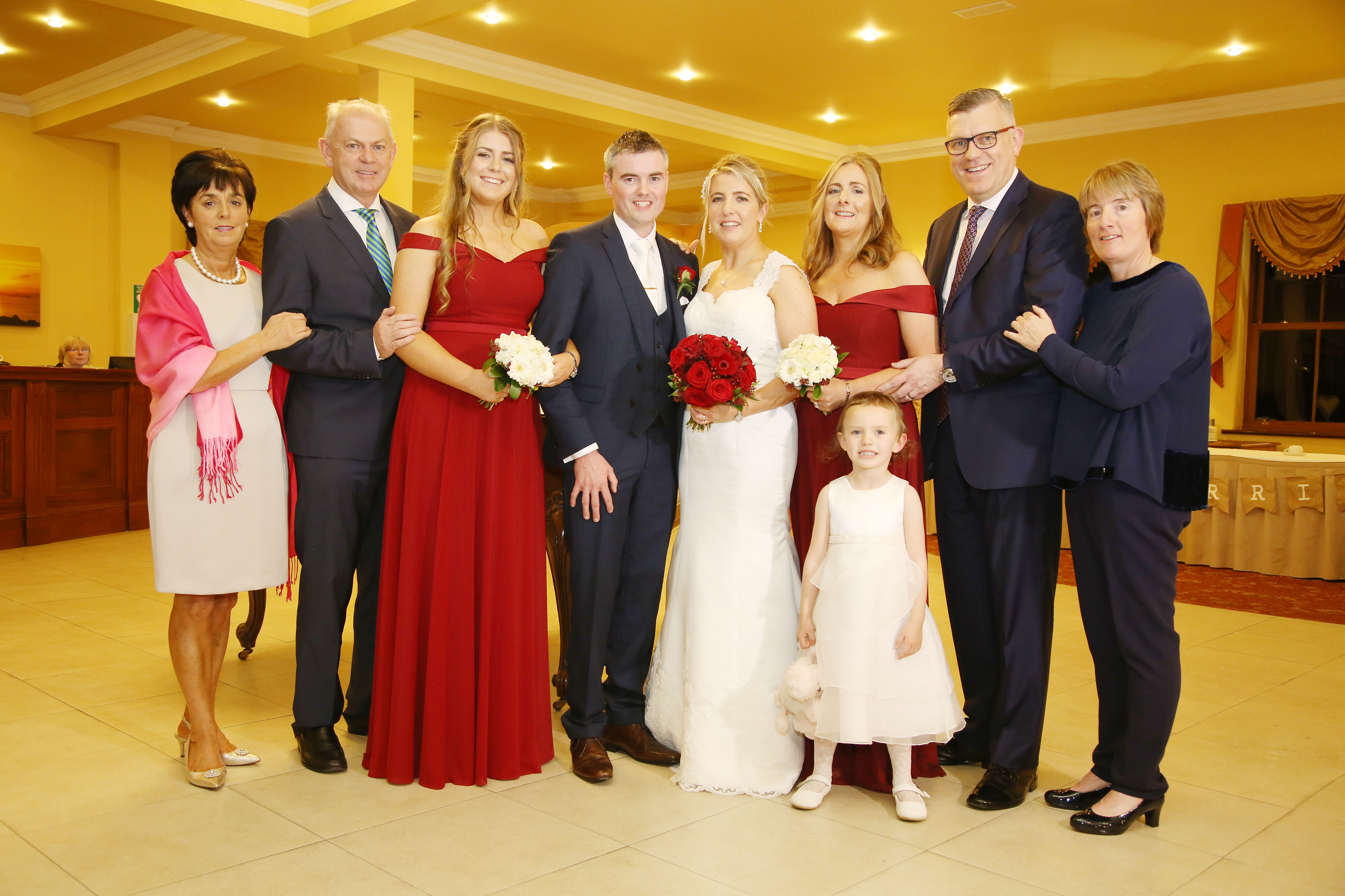 A Beautiful, Classic Great National Hotel Ballina Wedding images 34