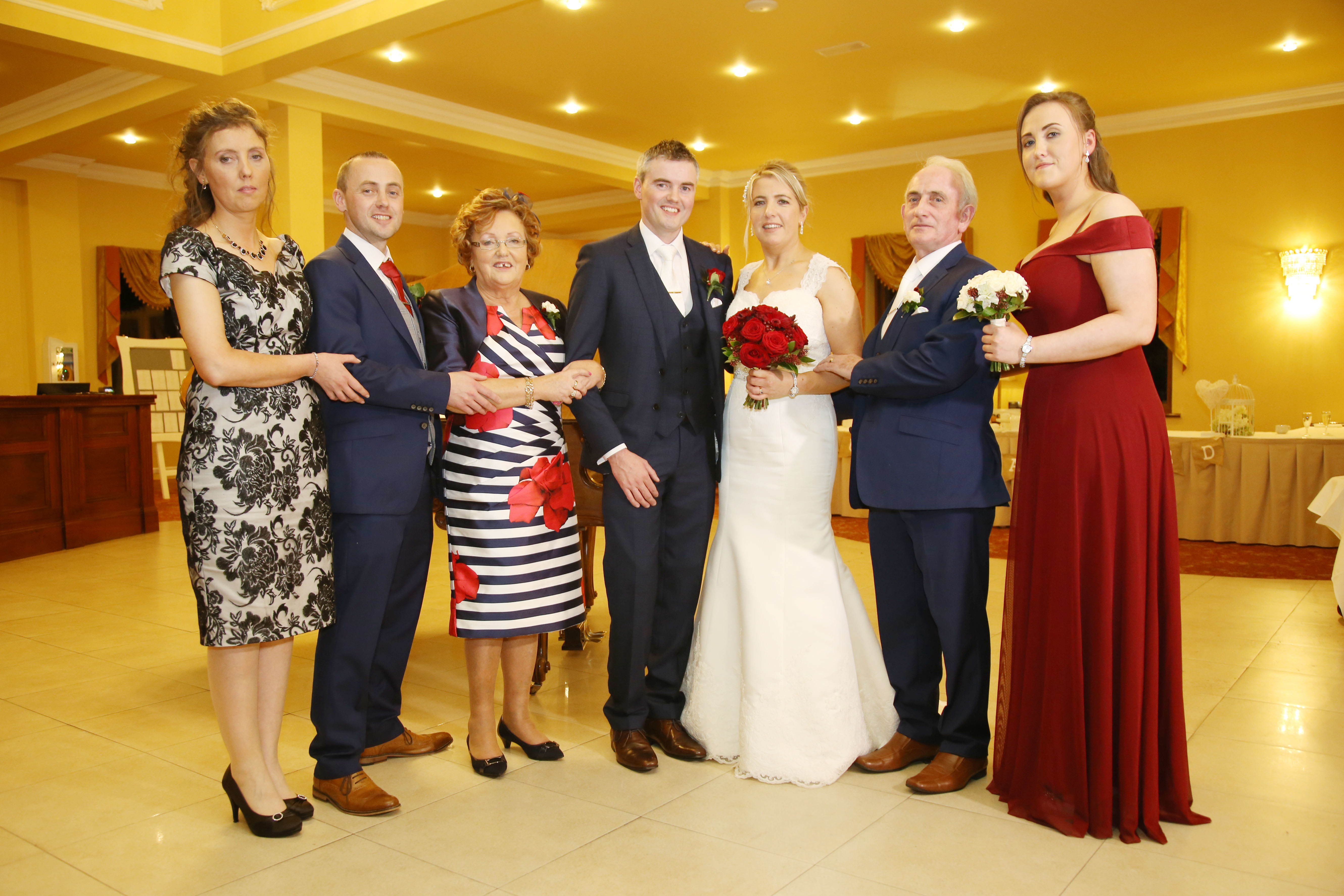 A Beautiful, Classic Great National Hotel Ballina Wedding images 35