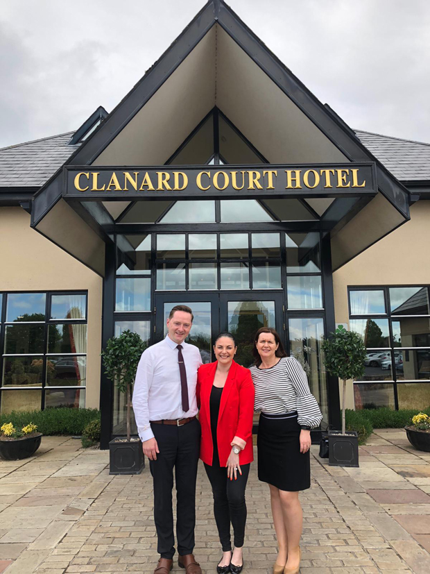 Lisa Cannon Visits weddingsonline Hotel Venue of the Year Leinster – the Charming Clanard Court Hotel