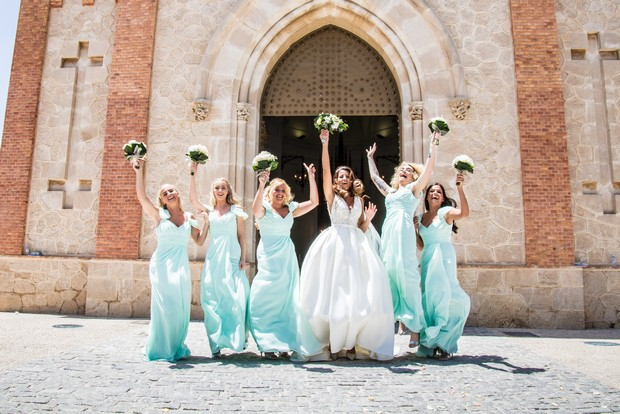 A Traditional Sun-Filled Wedding by Lyndyloo in Spain images 28