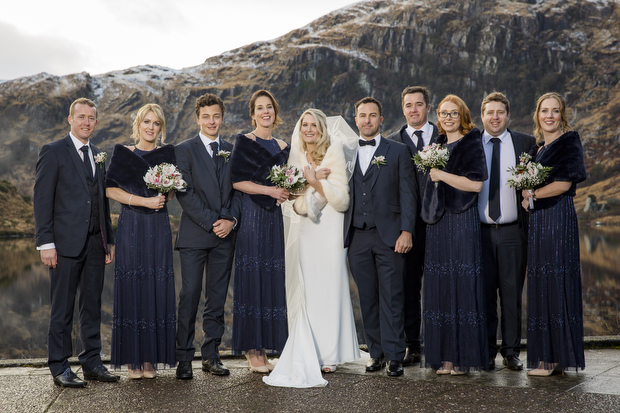 A Magical Gougane Barra & Muckross Park Hotel Wedding by Golden Moments Wedding Photography images 34