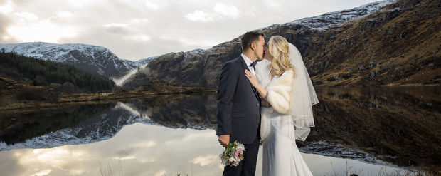 A Magical Gougane Barra & Muckross Park Hotel Wedding by Golden Moments Wedding Photography images 40