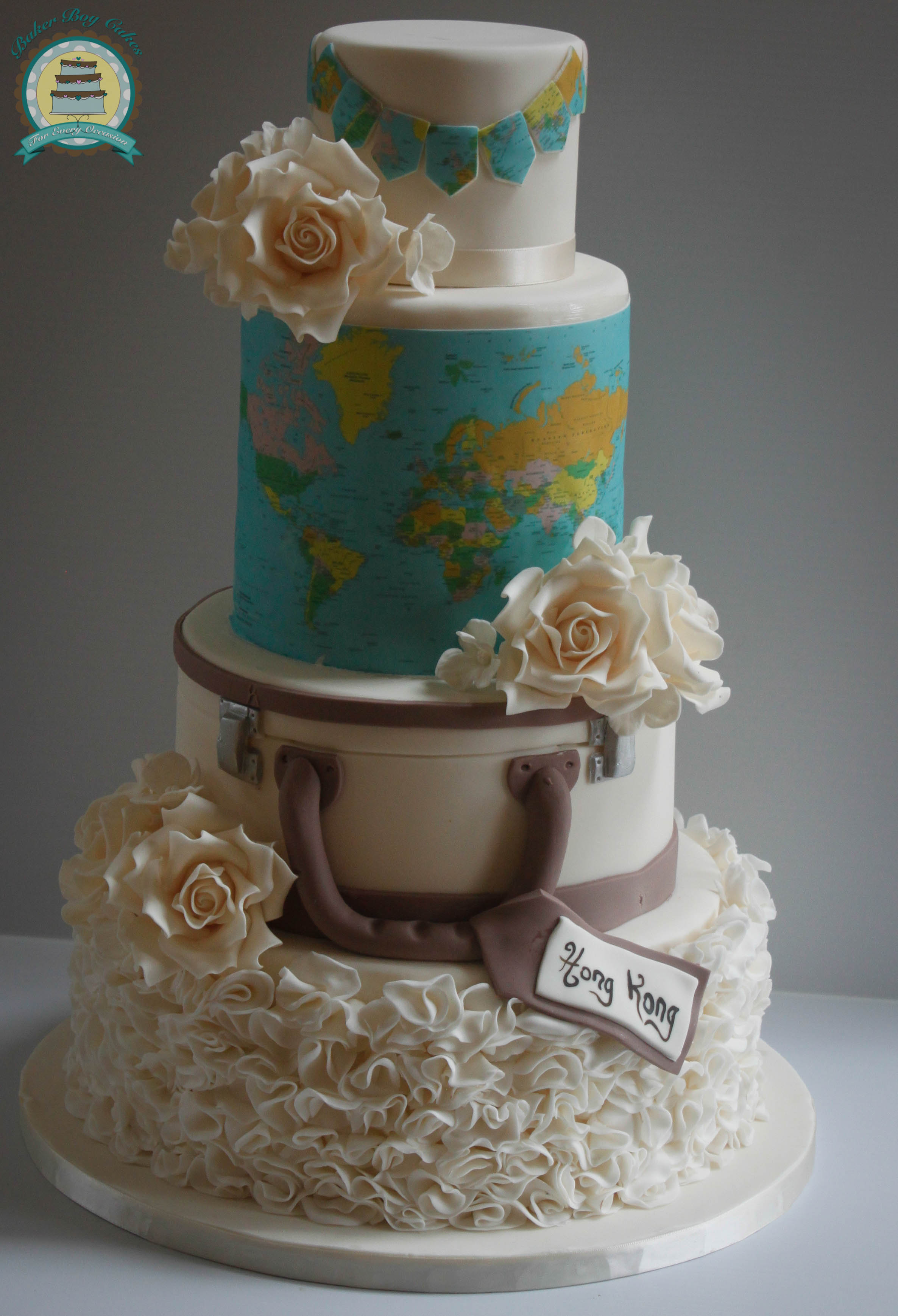 17 Lovely Wedding Cakes images 10