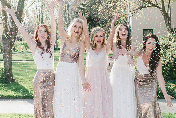 How to Style Bridesmaids in Separates & Where to Shop images 13