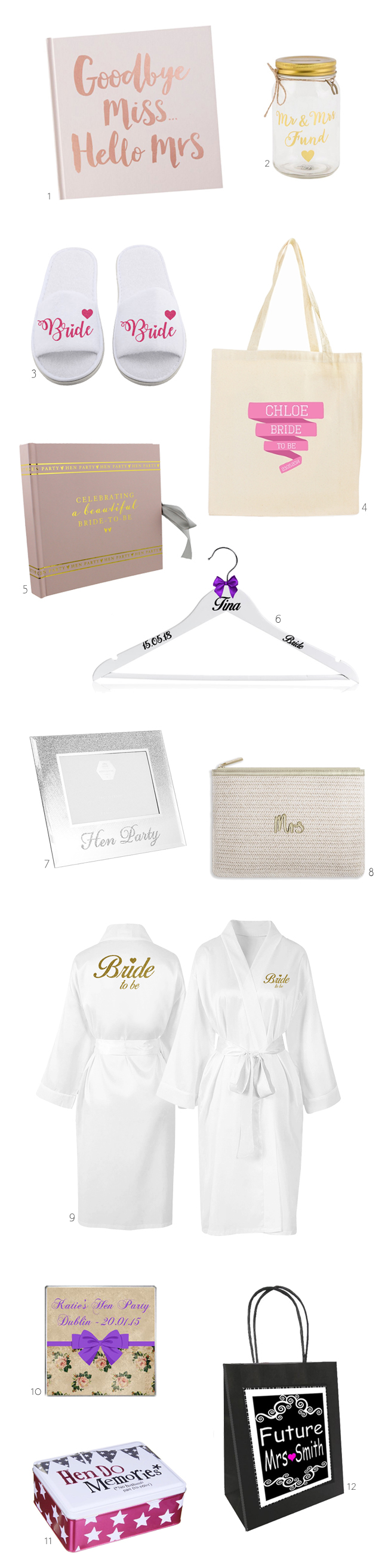 12 Perfect Hen Party Gifts | weddingsonline