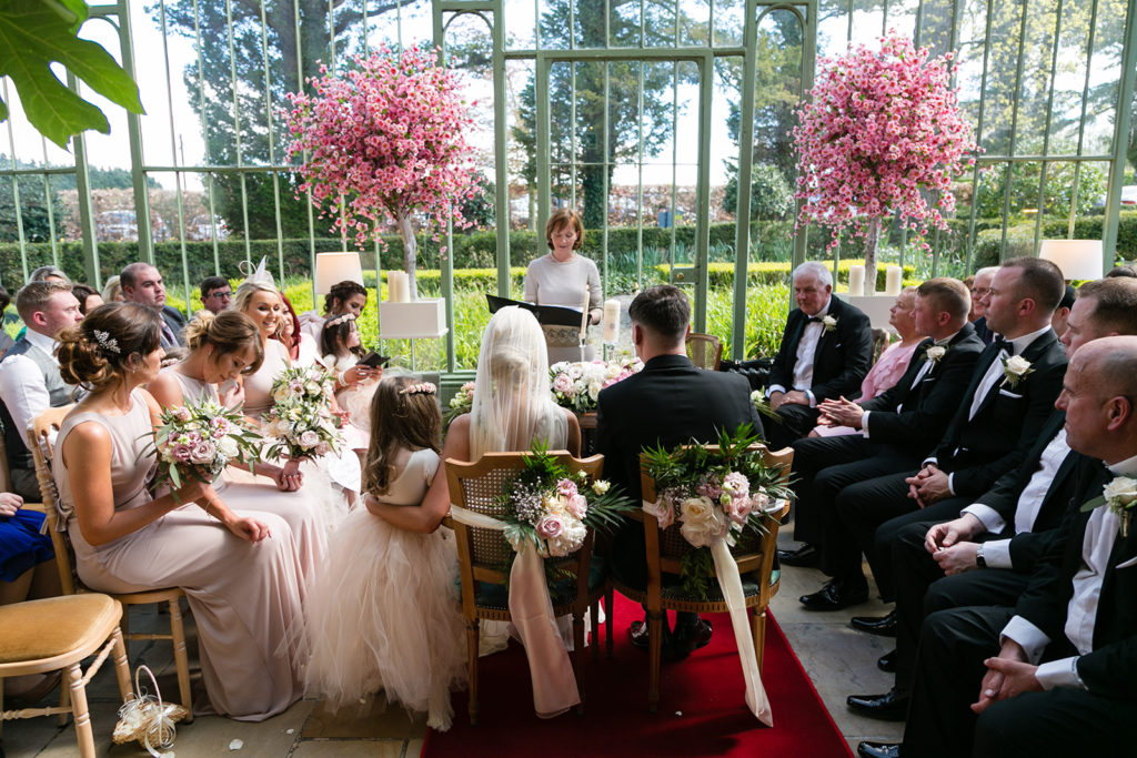 Pretty in Pink: An Effortlessly Beautiful Fairytale Wedding images 30