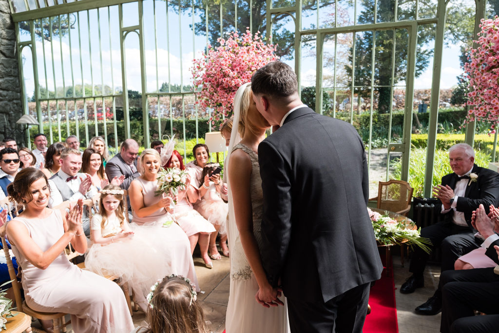 Pretty in Pink: An Effortlessly Beautiful Fairytale Wedding images 34