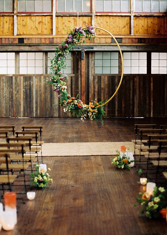 20 Unique Ceremony Backdrops You Ll Fall In Love With