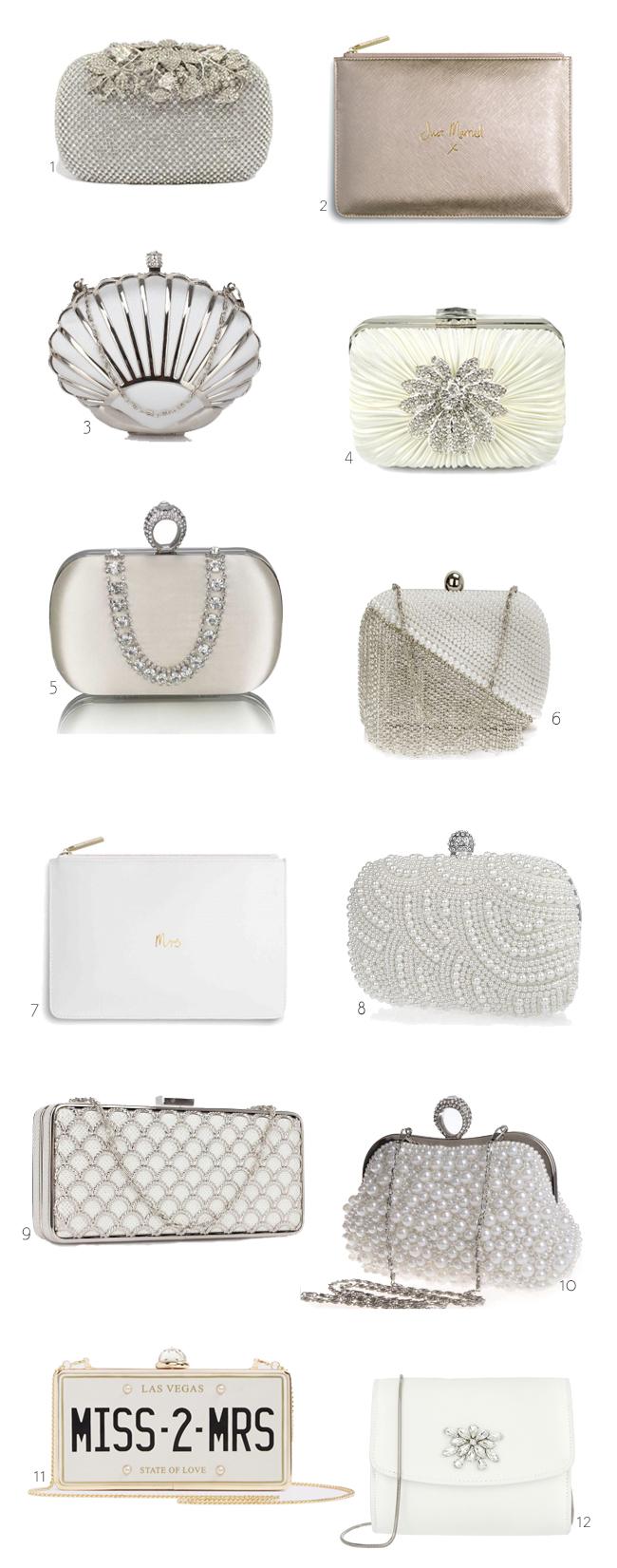03eb50806d 12 Chic Bridal Clutch Bags for Your Big Day   weddingsonline