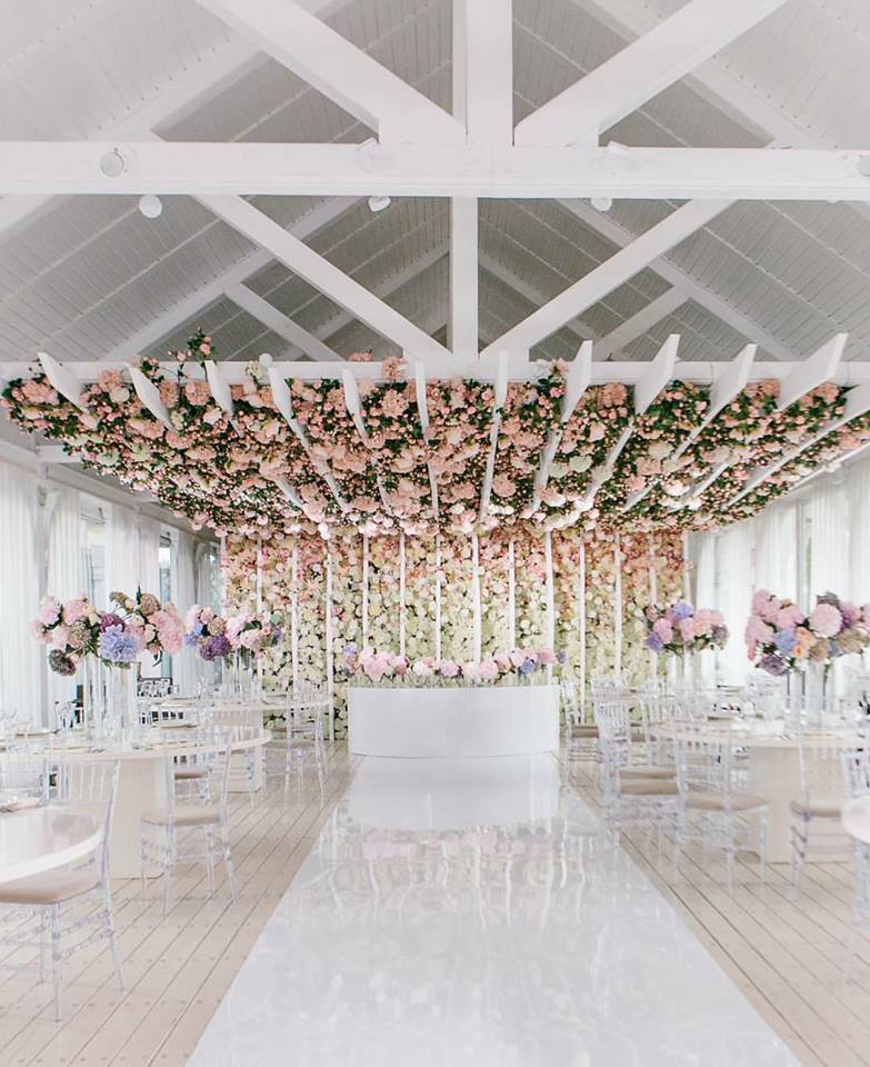 Wall Decoration Ideas Wedding: Where To Source A Flower Wall For Your Big Day