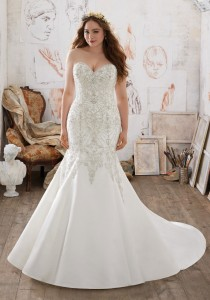 c8a53029a437 Incredibly Beautiful Wedding Dresses for Curvy Brides
